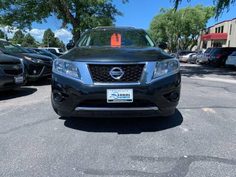 2015 Nissan Pathfinder for sale at Global Automotive Imports of Denver in Denver CO