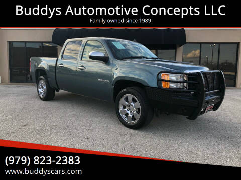 2010 GMC Sierra 1500 for sale at Buddys Automotive Concepts LLC in Bryan TX