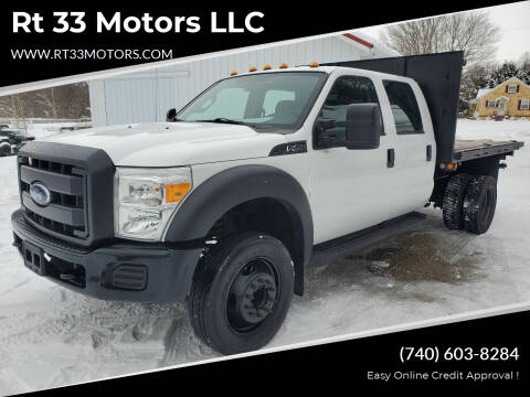 2013 Ford F-450 Super Duty for sale at Rt 33 Motors LLC in Rockbridge OH