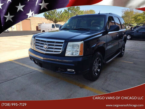 2004 Cadillac Escalade for sale at Cargo Vans of Chicago LLC in Mokena IL