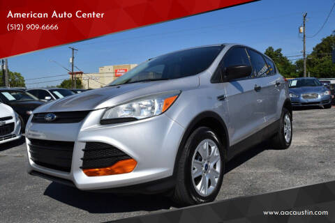 2013 Ford Escape for sale at American Auto Center in Austin TX