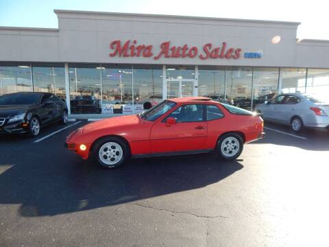 1987 Porsche 924 for sale at Mira Auto Sales in Dayton OH