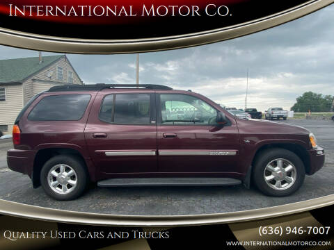 2005 GMC Envoy XL for sale at International Motor Co. in St. Charles MO