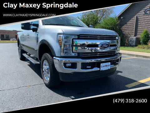 2018 Ford F-250 Super Duty for sale at Clay Maxey Springdale in Springdale AR