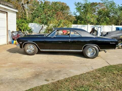 1966 Chevrolet Chevelle for sale at Classic Car Deals in Cadillac MI