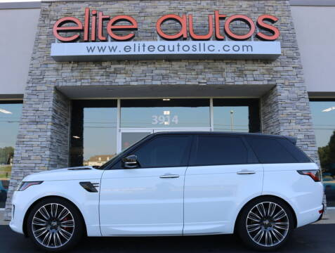 2019 Land Rover Range Rover Sport for sale at Elite Autos LLC in Jonesboro AR