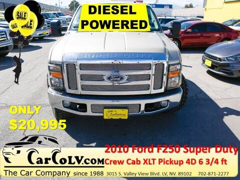 2010 Ford F-250 Super Duty for sale at The Car Company in Las Vegas NV