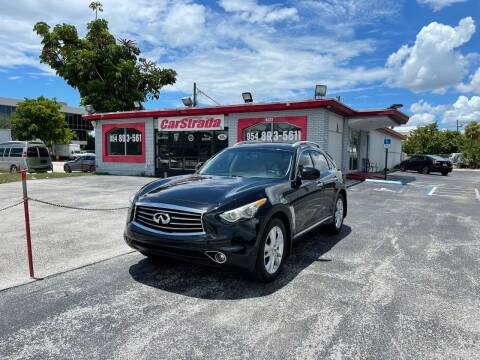 2013 Infiniti FX37 for sale at CARSTRADA in Hollywood FL