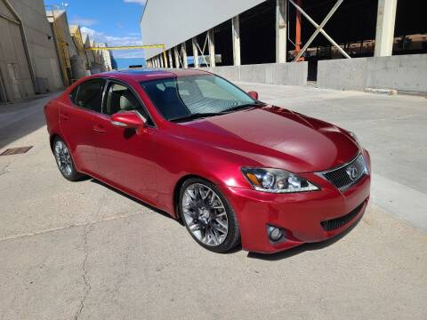2012 Lexus IS 350 for sale at NEW UNION FLEET SERVICES LLC in Goodyear AZ