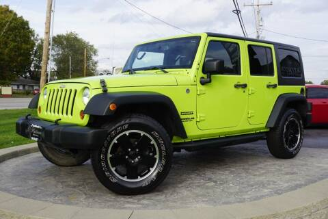 2013 Jeep Wrangler Unlimited for sale at Platinum Motors LLC in Heath OH