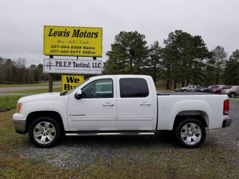 2008 GMC Sierra 1500 for sale at Lewis Motors LLC in Deridder LA