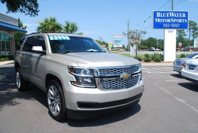 2015 Chevrolet Tahoe for sale at BlueWater MotorSports in Wilmington NC
