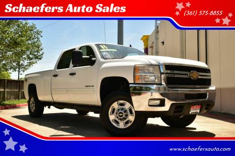2011 Chevrolet Silverado 2500HD for sale at Schaefers Auto Sales in Victoria TX