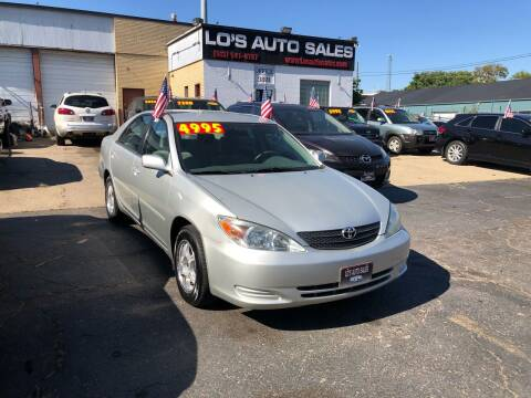 2003 Toyota Camry for sale at Lo's Auto Sales in Cincinnati OH
