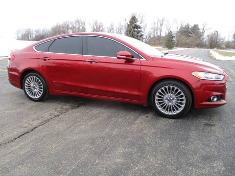 2014 Ford Fusion for sale at Crossroads Used Cars Inc. in Tremont IL