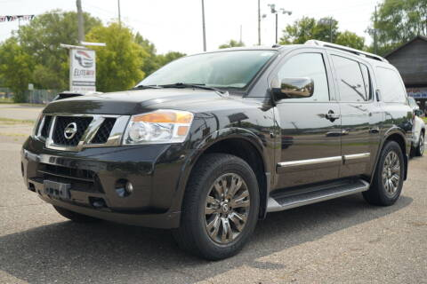2015 Nissan Armada for sale at ELITE AUTO in Saint Paul MN