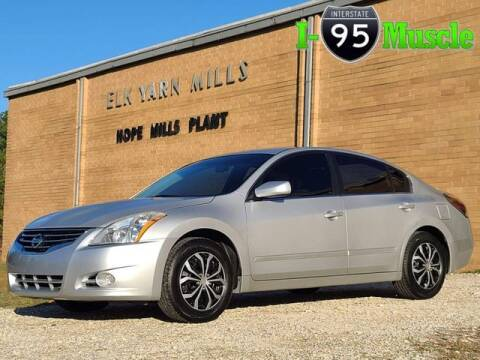 2012 Nissan Altima for sale at I-95 Muscle in Hope Mills NC