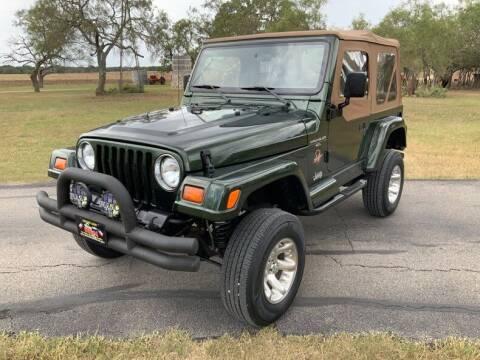 1997 Jeep Wrangler for sale at STREET DREAMS TEXAS in Fredericksburg TX