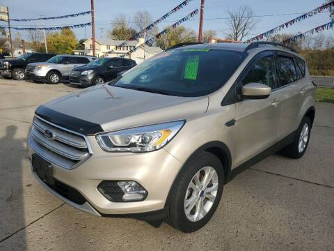 2018 Ford Escape for sale at Kachar's Used Cars Inc in Monroe MI