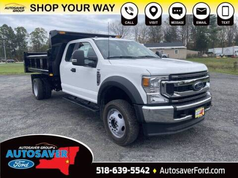 2021 Ford F-550 Super Duty for sale at Autosaver Ford in Comstock NY