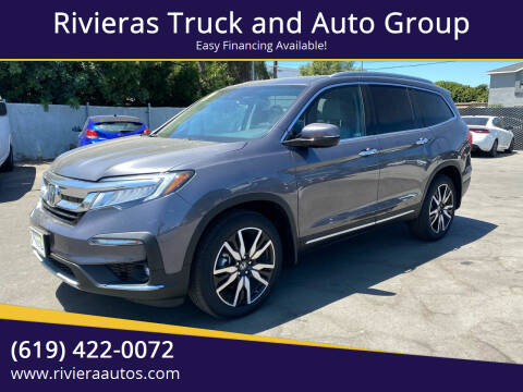 2019 Honda Pilot for sale at Rivieras Truck and Auto Group in Chula Vista CA