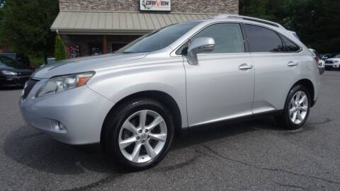 2011 Lexus RX 350 for sale at Driven Pre-Owned in Lenoir NC