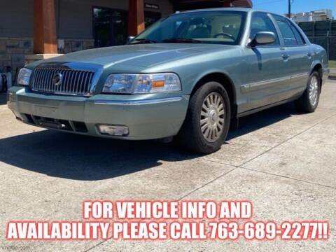 2006 Mercury Grand Marquis for sale at Affordable Auto Sales in Cambridge MN