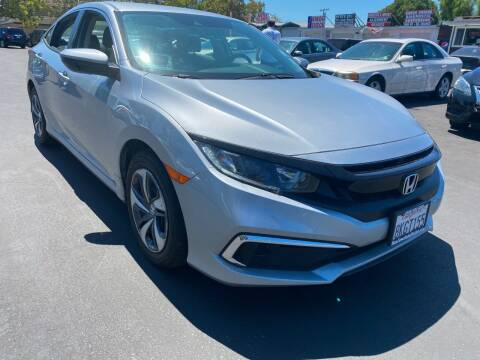 2019 Honda Civic for sale at San Jose Auto Outlet in San Jose CA