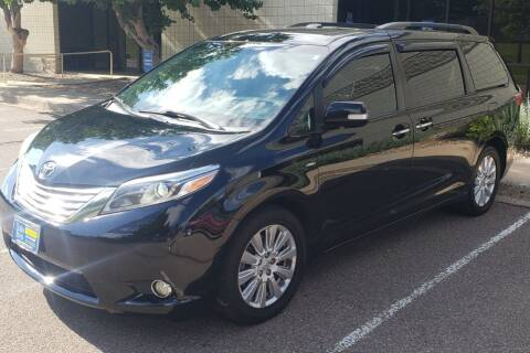 2017 Toyota Sienna for sale at Pammi Motors in Glendale CO