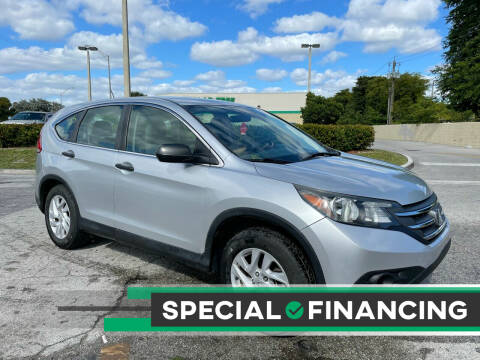 2014 Honda CR-V for sale at D & P OF MIAMI CORP in Miami FL