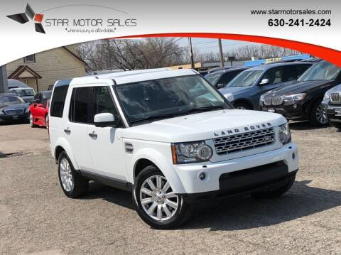2012 Land Rover LR4 for sale at Star Motor Sales in Downers Grove IL
