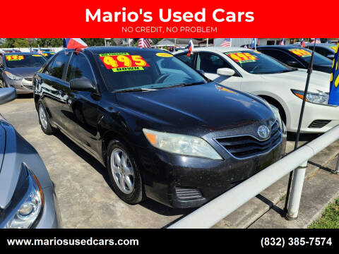 2010 Toyota Camry for sale at Mario's Used Cars - South Houston Location in South Houston TX