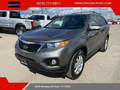 2011 Kia Sorento for sale at SOUTHWEST AUTO GROUP-EL PASO in El Paso TX