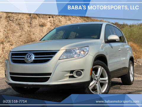 2010 Volkswagen Tiguan for sale at Baba's Motorsports, LLC in Phoenix AZ