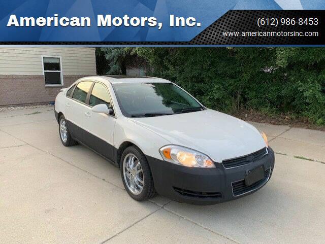 2008 Chevrolet Impala for sale at American Motors, Inc. in Farmington MN