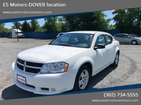 2010 Dodge Avenger for sale at ES Motors-DAGSBORO location - Dover in Dover DE
