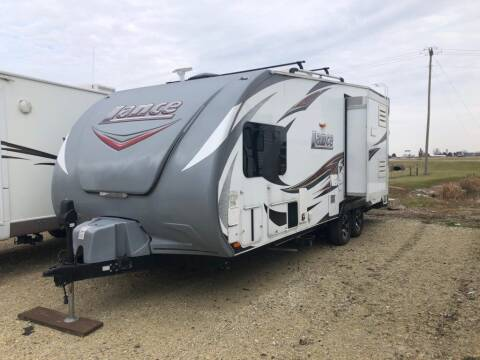 2015 Lance Toy Hauler for sale at Kill RV Service LLC in Celina OH