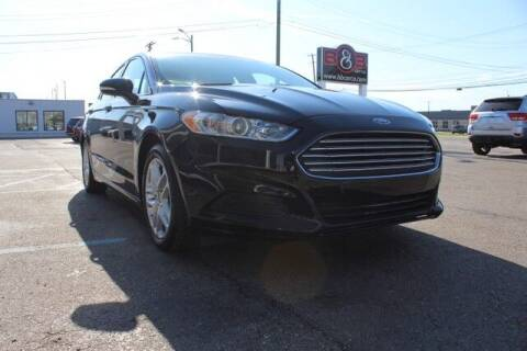 2016 Ford Fusion for sale at B & B Car Co Inc. in Clinton Township MI