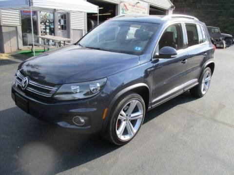 2016 Volkswagen Tiguan for sale at Route 4 Motors INC in Epsom NH