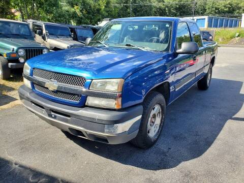 2004 Chevrolet Silverado 1500 for sale at MX Motors LLC in Ashland MA