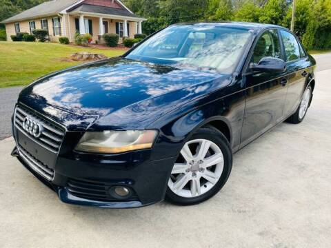 2010 Audi A4 for sale at Cobb Luxury Cars in Marietta GA