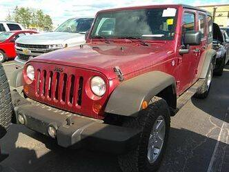 2012 Jeep Wrangler Unlimited for sale at Cresco Motor Company in Cresco IA
