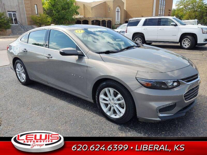 2017 Chevrolet Malibu for sale at Lewis Chevrolet Buick of Liberal in Liberal KS