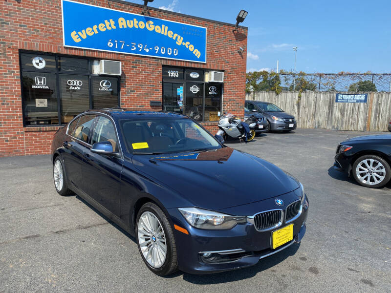 2013 BMW 3 Series for sale at Everett Auto Gallery in Everett MA