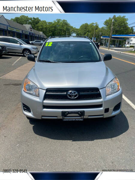 2012 Toyota RAV4 for sale at Manchester Motors in Manchester CT