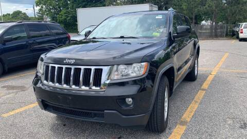2012 Jeep Grand Cherokee for sale at MCQ SALES INC in Upton MA