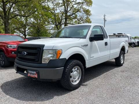 2013 Ford F-150 for sale at TINKER MOTOR COMPANY in Indianola OK