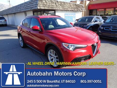 2018 Alfa Romeo Stelvio for sale at Autobahn Motors Corp in Bountiful UT