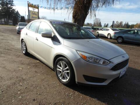 2015 Ford Focus for sale at VALLEY MOTORS in Kalispell MT