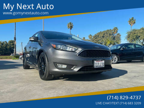 2016 Ford Focus for sale at My Next Auto in Anaheim CA